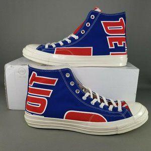 Converse Chuck 70 Hi x Detroit Pistons Shoes 13